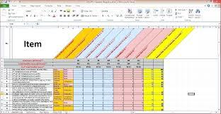 Workout Spreadsheet Template Training Attendance Sheet Template Weekly Excel Training