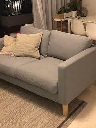 250 ikea karlstad sofa with extra