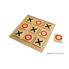 Wooden Naughts And Crosses Game Wooden Noughts and Crosses Board Game Little Earth Nest 9