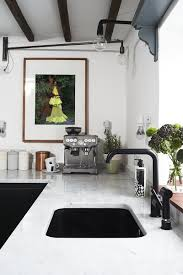 Q: What was your biggest splurge? A: The polished marble work surface.