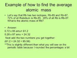 TAKE A …. GUIDED NOTES PAGE ATOMIC MASS W.S. ….OFF MY DESK. - ppt ...