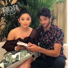 Clearly, what the public had detected. Lana Condor And Noah Centineo Video Interview Popentertainmentblog Com