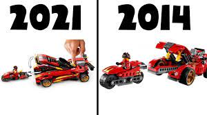 LEGO Ninjago 2021 Sets - OLD vs NEW! | Lego ninjago, Ninjago lego sets,  Cool lego creations