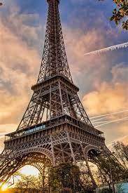 france paris eiffel tower cityscape
