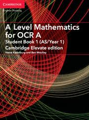 OCR A level Chemistry A Student Book     ActiveBook