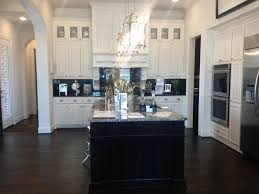 Kitchen Dark Wood Floors Dark Brown Laminated Wooden Kitchen Cabinet Mixed White Flooring