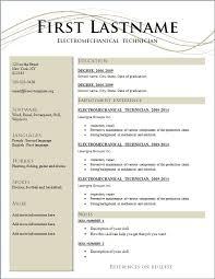 Free Resume Templates To Download | Berathen throughout Make Free Resume