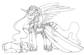 Small Picture My Little Pony Coloring Pages Nightmare Moon Coloring Pages