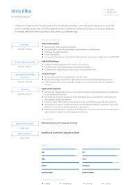 Android Developer Resume Samples Templates Visualcv
