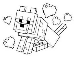 Small Picture Minecraft Logo Coloring Sheet Coloring Pages Templates 2