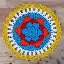 Free Crochet Mandala Pattern Adorable Sunny Mandala Free Crochet Pattern Pratik Fikirler Pinterest