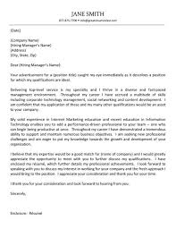 Example Of Executive Cover Letters It Manager Cover Letter Fashion Pinterest Cover Letter Example