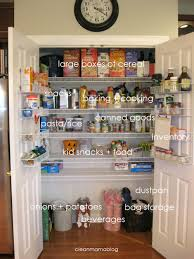 Kitchen Pantry Organization Kitchen Month Pantry Organization Clean Mama