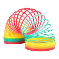 Slinky Антистрессовая <b>игрушка Пружинка Радуга</b> Гигант ...