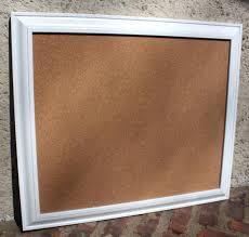 large white framed cork board uk white decorative framed cork boards xl long narrow black satin
