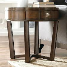 round end table rustic brown natural numbers uk small