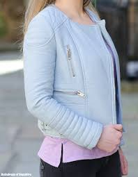follow previous post the zara pastel blue leather jacket