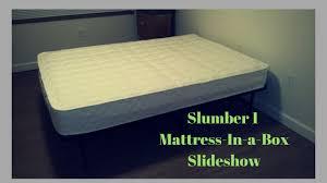 slumber mattress in a box. Perfect Slumber SLUMBER 1  8 To Slumber Mattress In A Box O