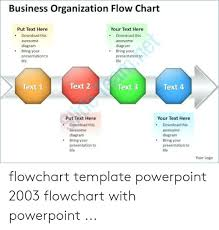 Process Flow Chart Template Powerpoint 2003