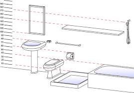 Sanitary Ware Dimensions Toilet Dimension Sink Dimensions