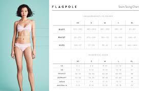 Size Fit Flagpole Womens Swimwear Size Guide