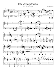 john williams medley john williams sheet music for piano and  john williams medley john williams sheet music for piano and keyboard musescore