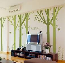 157 inch large tree wall decals stickers for rooms forest tour