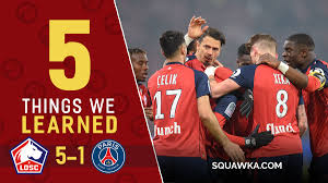 But most of the team is filled with sh*t. Five Things Learned As Psg S Shock 5 1 Thrashing V Lille Delays Ligue 1 Coronation Squawka