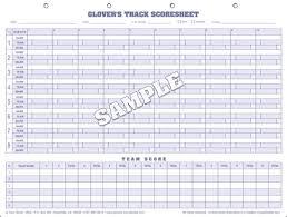 Wrestling Score Sheet Template