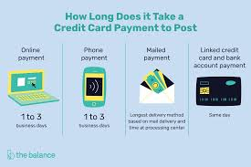 how to pay off credit cards fast how long does it take a credit card payment to post