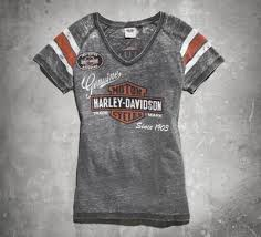 women s genuine oil can burnout tee tees official harley