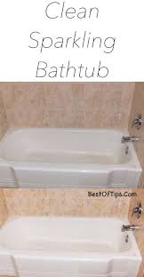 awesome how to clean bathtub with baking soda sparkling and vinegar bath bleach dawn jet