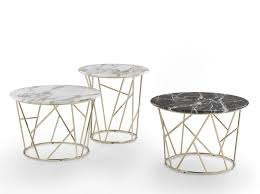 round marble coffee table twig marble coffee table by marelli