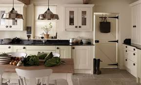 cream kitchen cabinets with black countertops. Full Size Of Kitchen:elegant Cream Kitchen Cabinets With Black Countertops Contemporary Charming L
