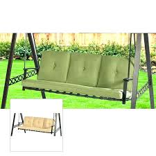 unusual 3 person swing 3 person porch swing garden treasures porch swing replacement cushion for 3