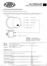 oil temp gauge wiring diagram oil wiring diagrams