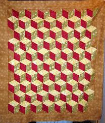 Baby Block Quilt Patterns Classy How To Make Quilt Baby Blocks With No Y Seams Using A 48 Degree Ruler
