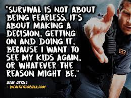 Survival Quotes Beauteous 48 Courageous Bear Grylls Quotes About Survival Wealthy Gorilla