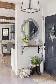 unique entryway furniture. interiorbeige entryway decor with rustic table and unique wall art idea small design furniture
