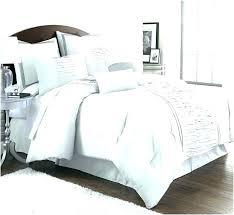 grey ruffle bedding dark gray