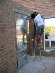 alma building s cavity sliding door systems for single how to install