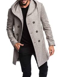 <b>ZOGAA 2019</b> Hot Sale Autumn Winter Men Hooded <b>Wool</b> Coats ...