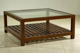 aurora square coffee table