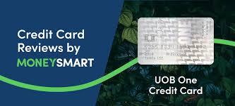 uob one card moneysmart review 2020
