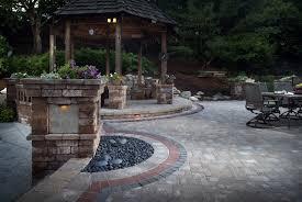 Backyard Paver Designs Interesting Paver Patio Basics For Richmond Homeowners BCLS Landscape Services