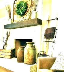 best farmhouse mantel decorating ideas fireplace
