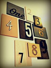 Upcycled Wall Art Upcycled House Number Wall Art Decor Hacks