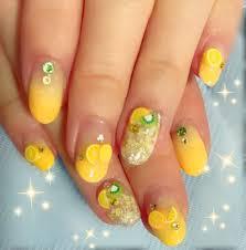 オレンジネイル 夏 キウイ レモン バナナ サマーネイル Nails