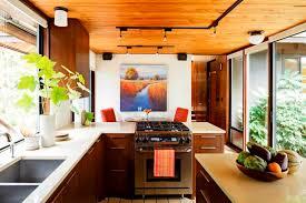Countertops Mid Century Modern Kitchen