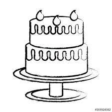 Sketch Of Birthday Cake Baroness Von Sketch Birthday Cake Running